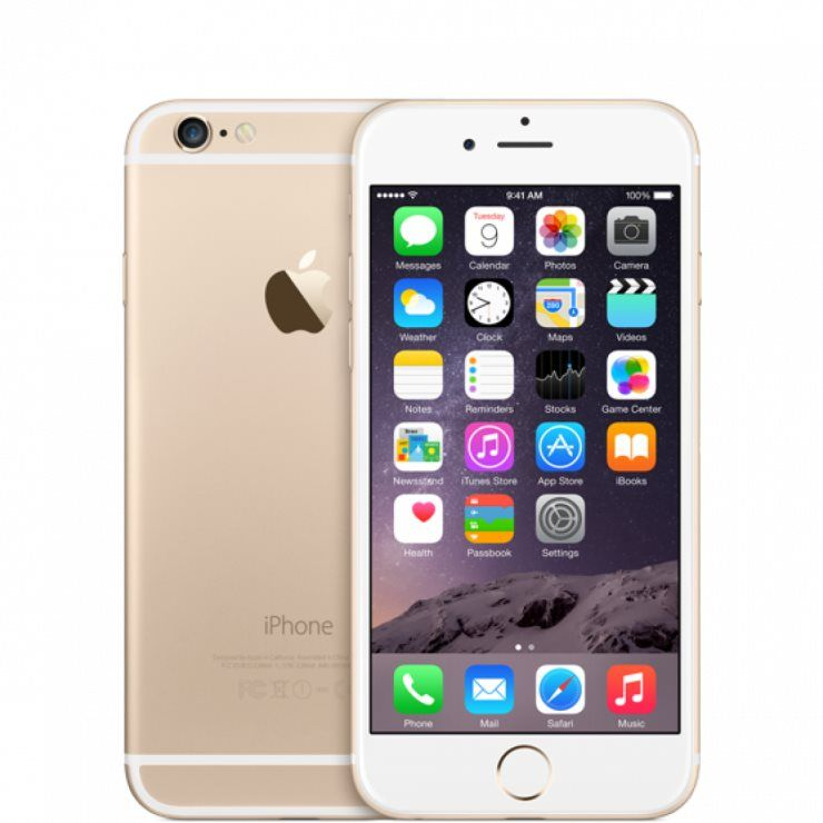 Apple iPhone 6 128GB золотой